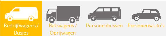 soorten auto's verkrijgbaar